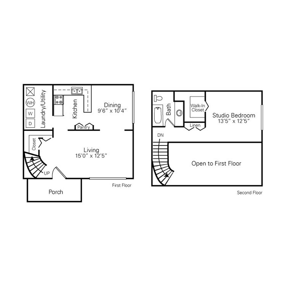 royal-woods-townhomes-apartments-for-rent-in-riverview-mi-floor-plans-1