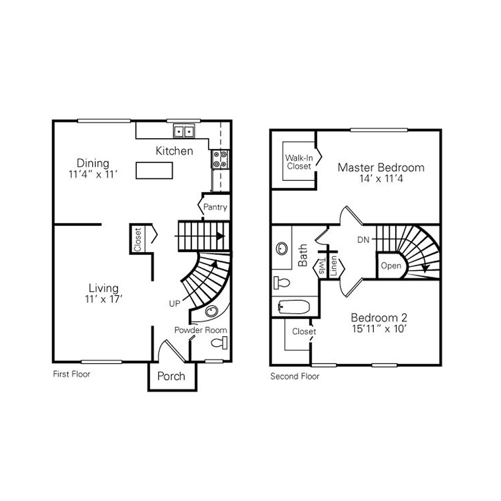 royal-woods-townhomes-apartments-for-rent-in-riverview-mi-floor-plans-2