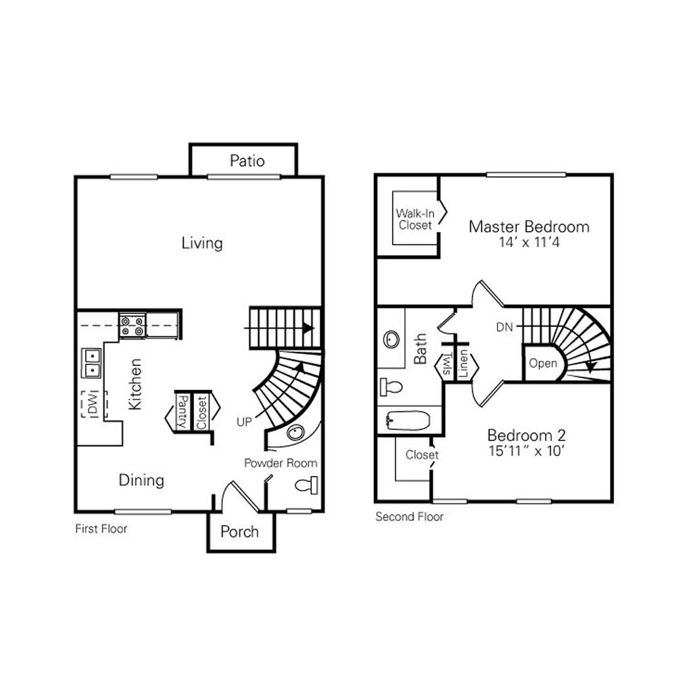 royal-woods-townhomes-apartments-for-rent-in-riverview-mi-floor-plans-3